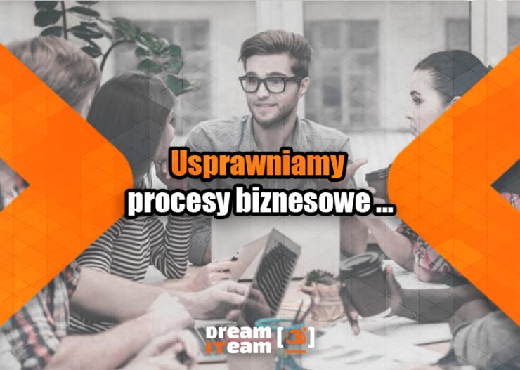 Usprawniamy procesy biznesowe...