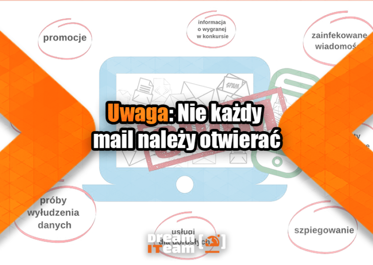 Uwaga Nie każdy mail należy otwierać
